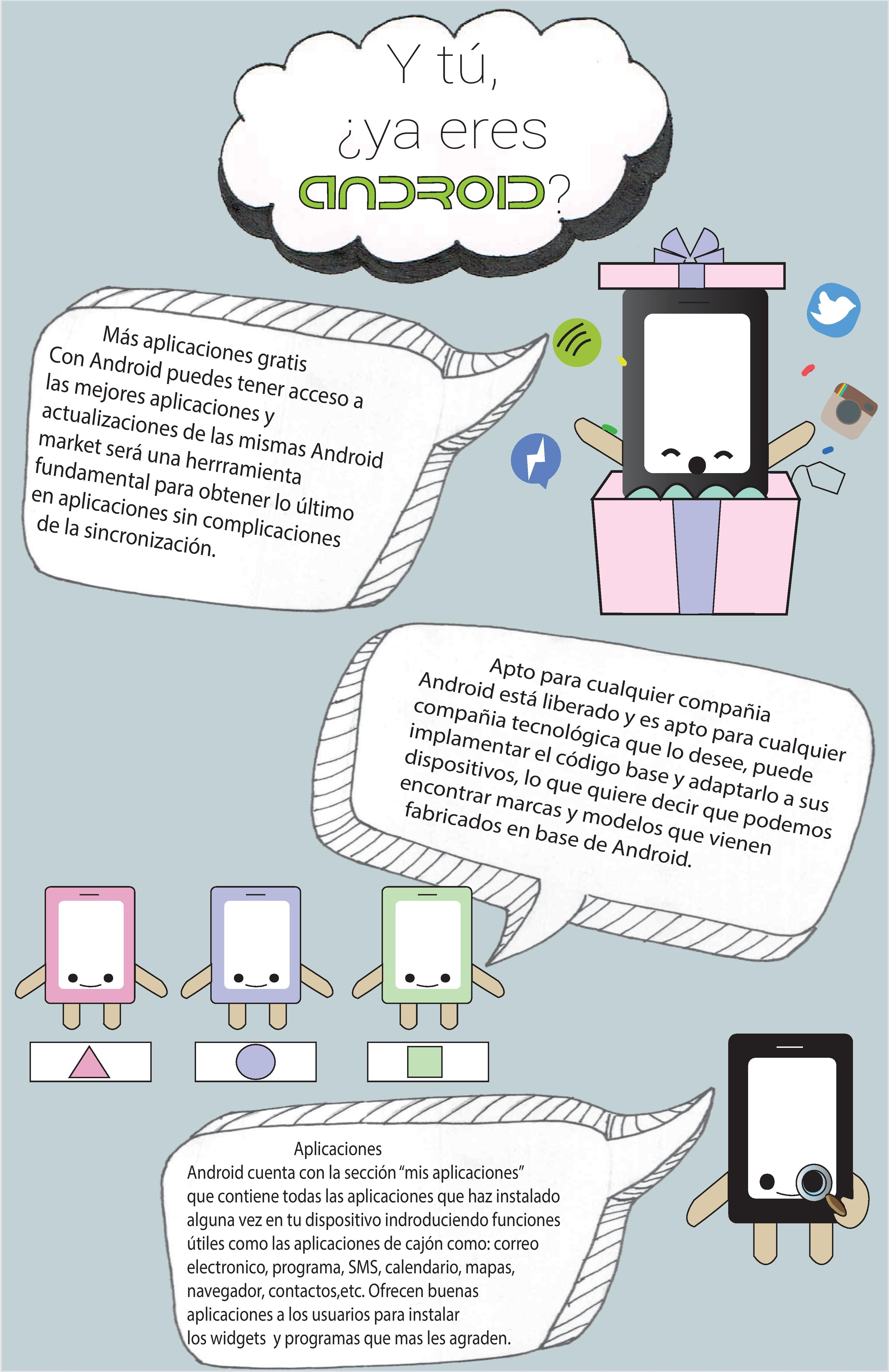 Segunda parte de la infografía sobre android #android #infografía