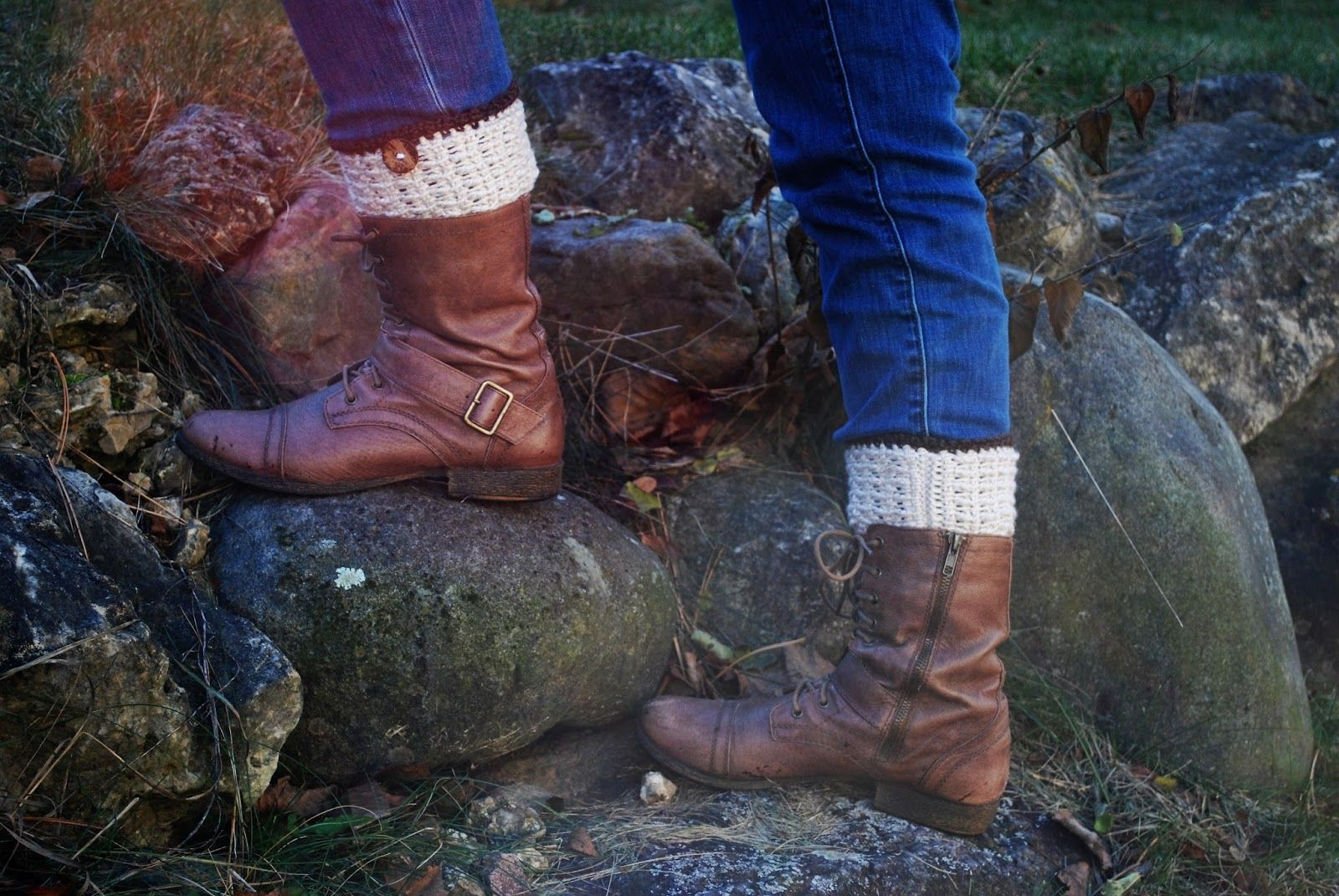 Kaleidoscope Art&Gifts: Adelyn Boot Cuffs FREE pattern to coordinate ...