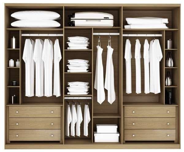 Дизайн шкафа купе внутри - фото мебели для спальни | Дом в ...