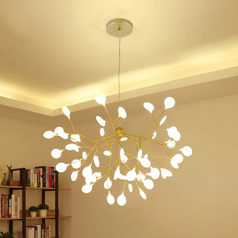 Firefly Pendant Light Contemporary Led Chandelier Tree Branch