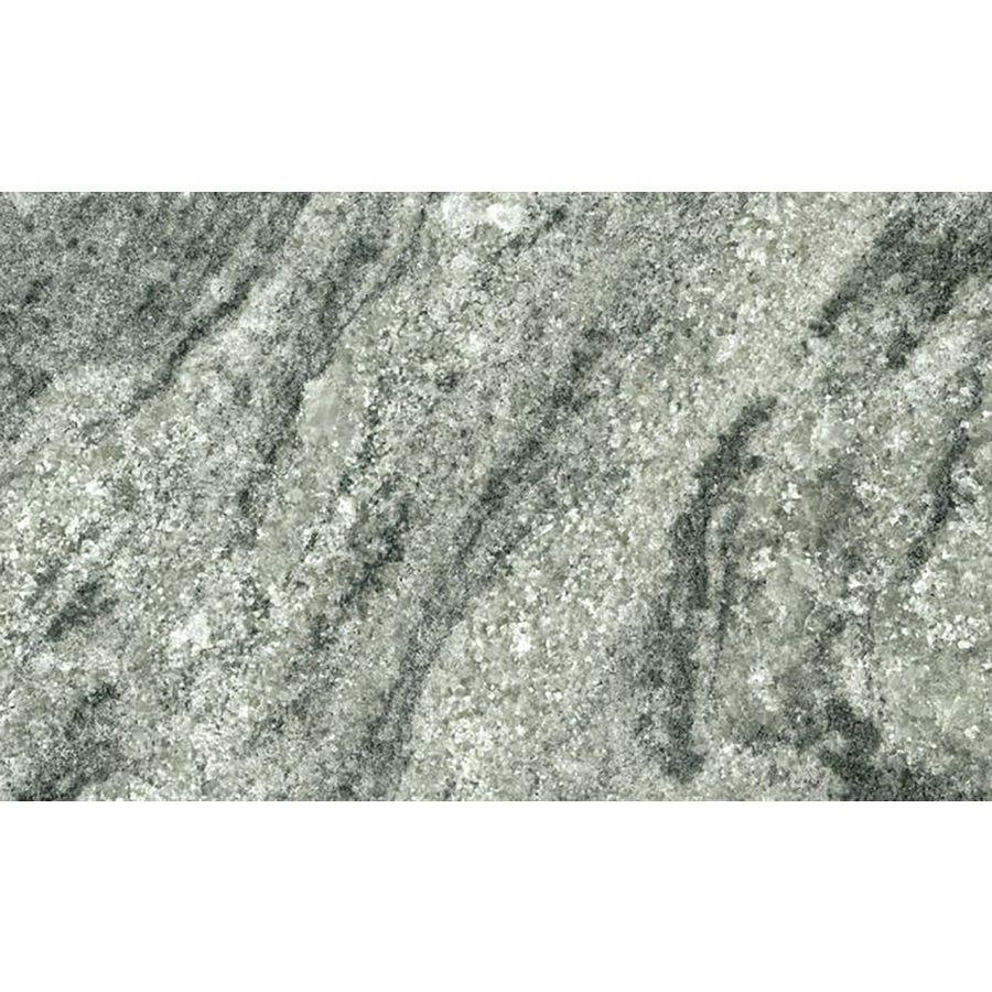 Shop Sensa Verde Aquarius Leather Granite Kitchen Countertop