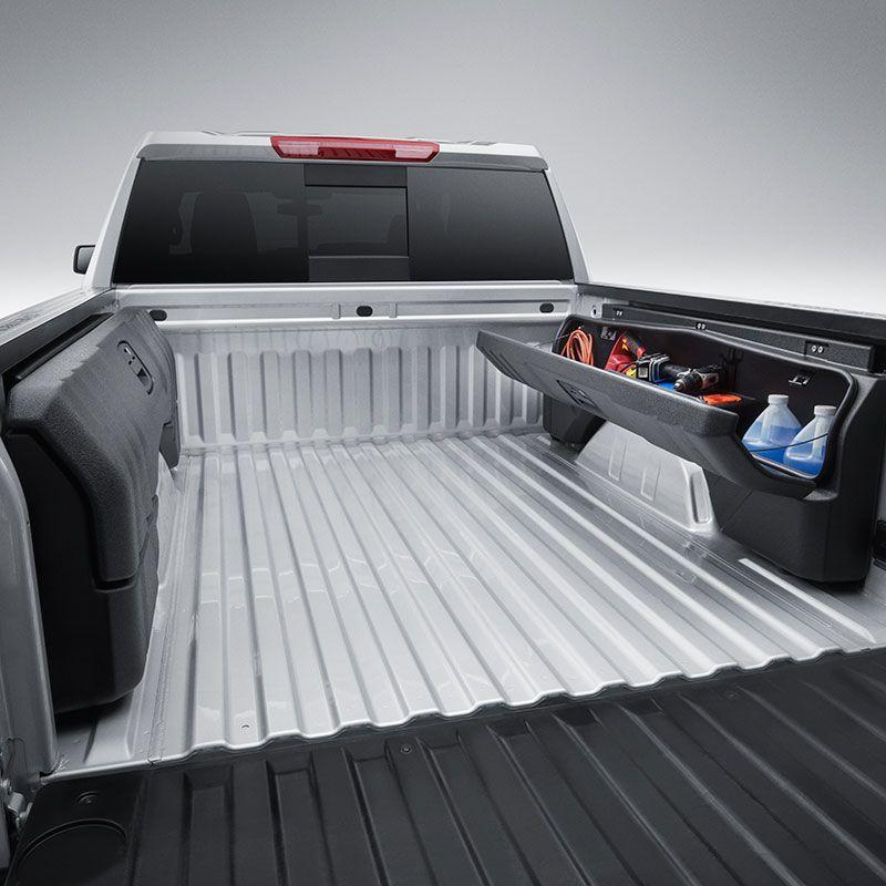 2019 Silverado 1500 Side Mounted Bed Storage Boxes Short Box
