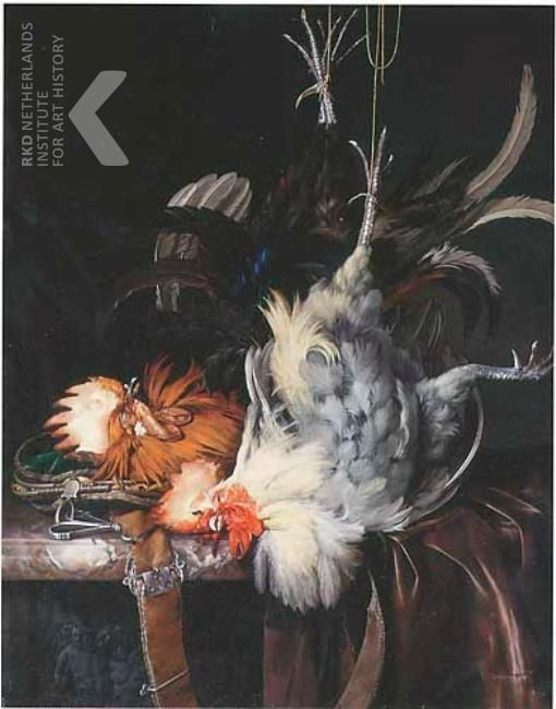 1681 - Aelst, van Willem -  Still life with two dead roosters