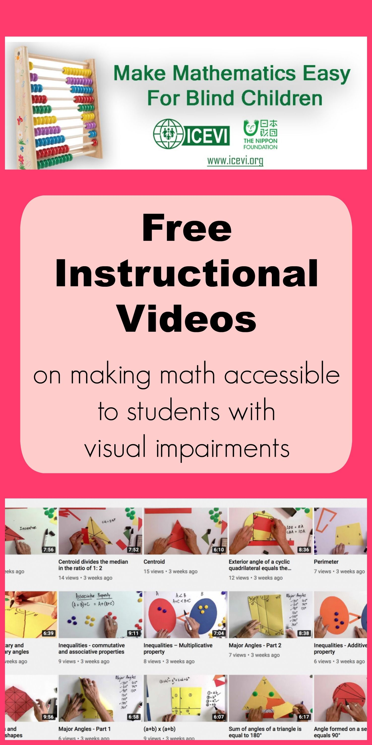 Mathematics Made Easy Instructional Videos