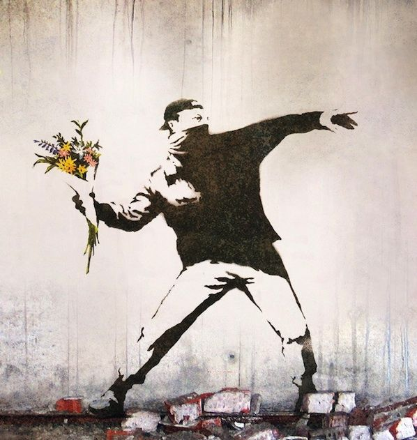 Banksy's 10 Most Powerful Works of Social Commentary | Artiste, Peinture