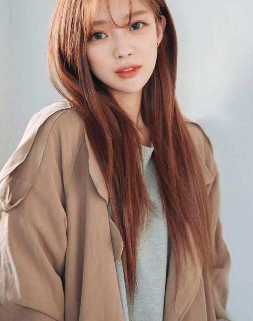 Image Result For Kpop Strawberry Blonde Korean Hair Color Hair Styles Korean Hairstyle