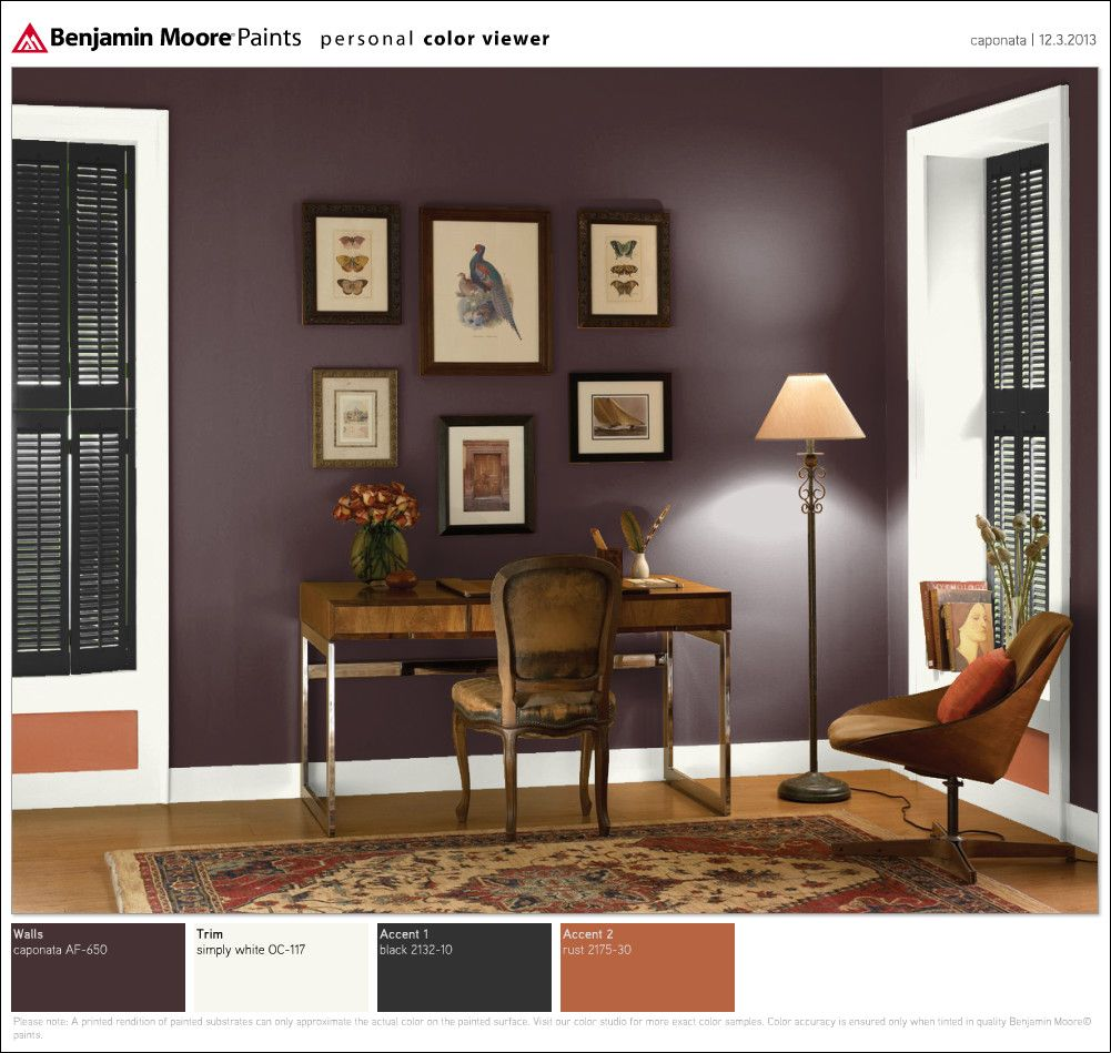 Benjamin Moore Colors For Your Living Room Decor: Apartment Decorating Living