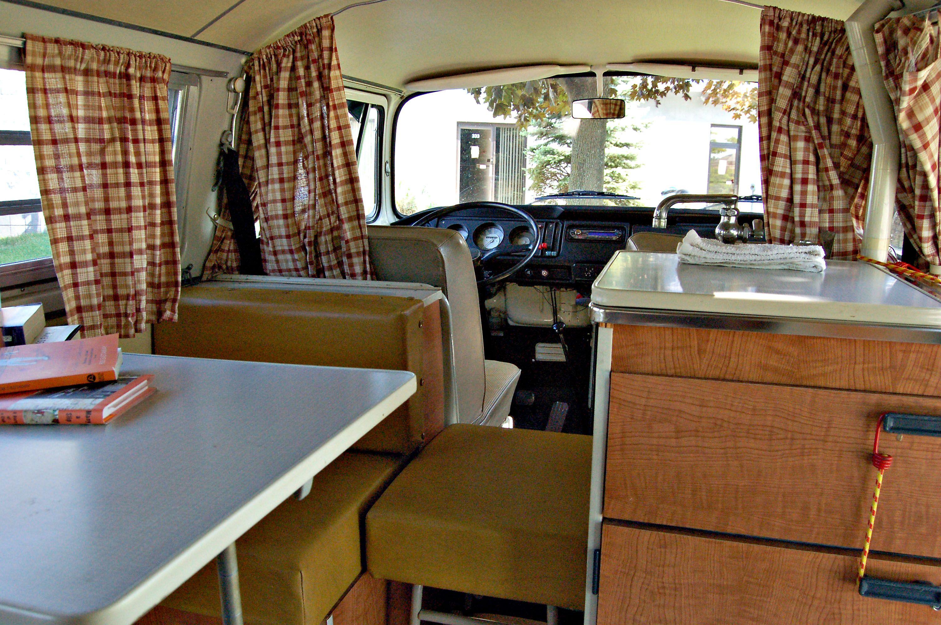 1970s Interiors | 1970 VW Camper Interior