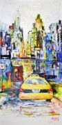 View to Manhattan: Taxi Series! Love these colors