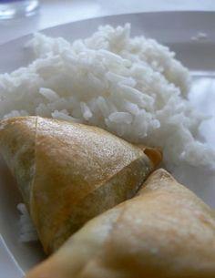 Photo de la recette : Samoussas maison au boeuf