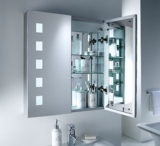 Mirrored bathroom cabinet bedroom furniture pinterest mirrored bathroom cabinet mozeypictures Image collections