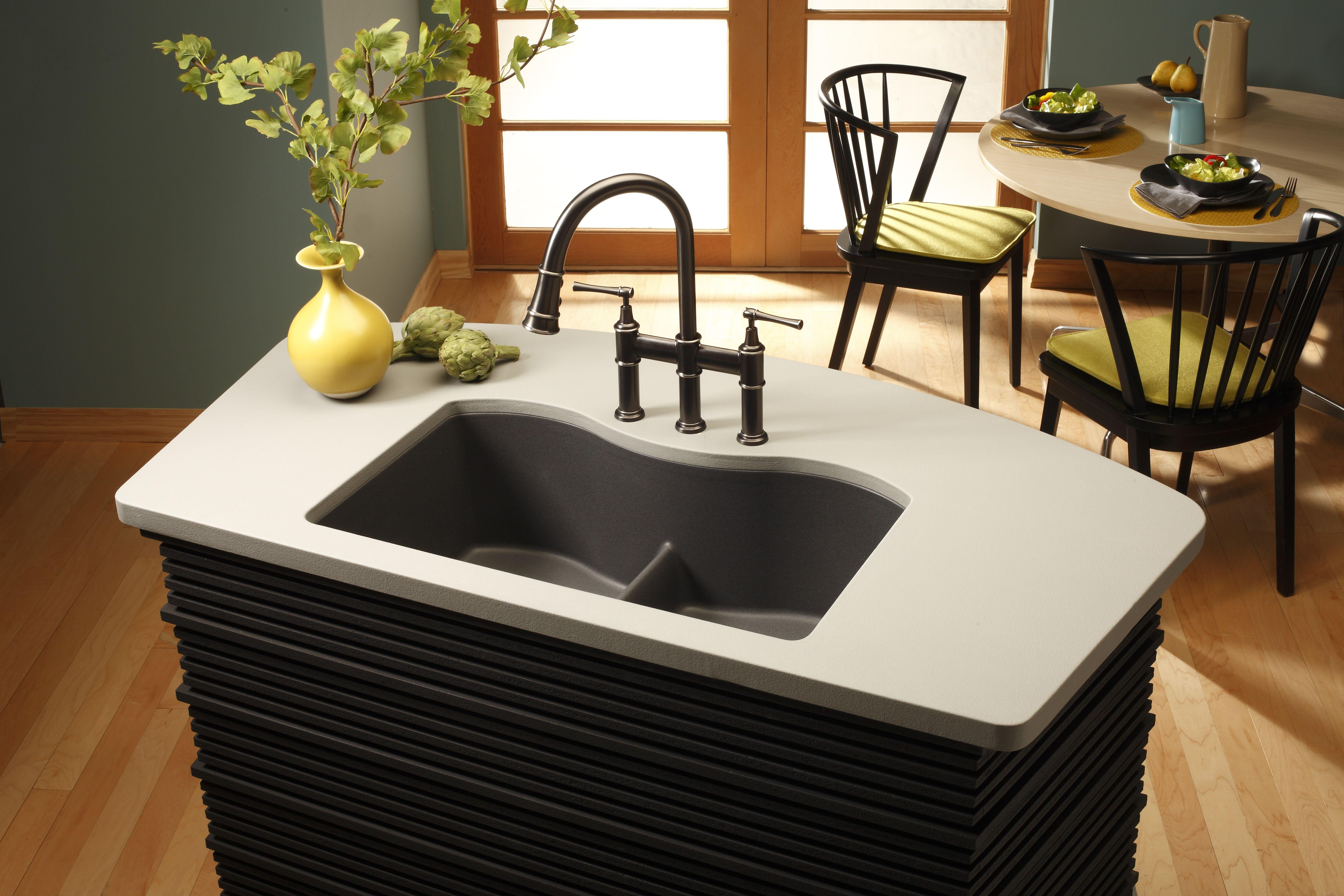 Elegant Elkay Harmony E Granite Double Bowl Undermount Sink ELGULB3322  GerhardsStore.com