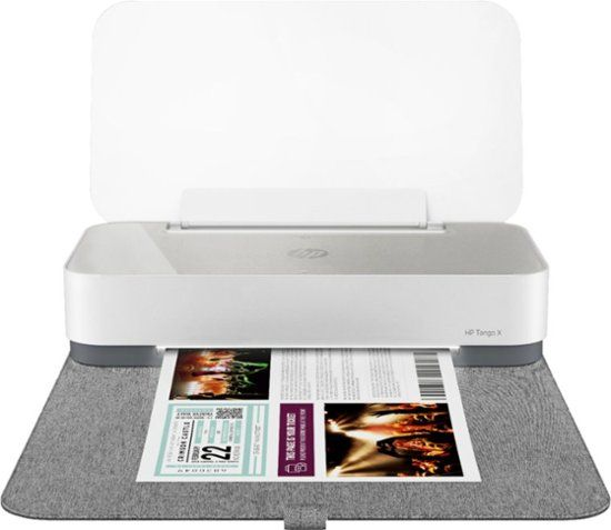 HP Tango X Wireless Instant Ink Ready Printer with Linen