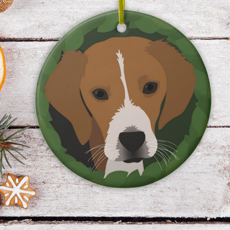 Beagle Christmas Ornament Dog Ornament Beagle Ornament With