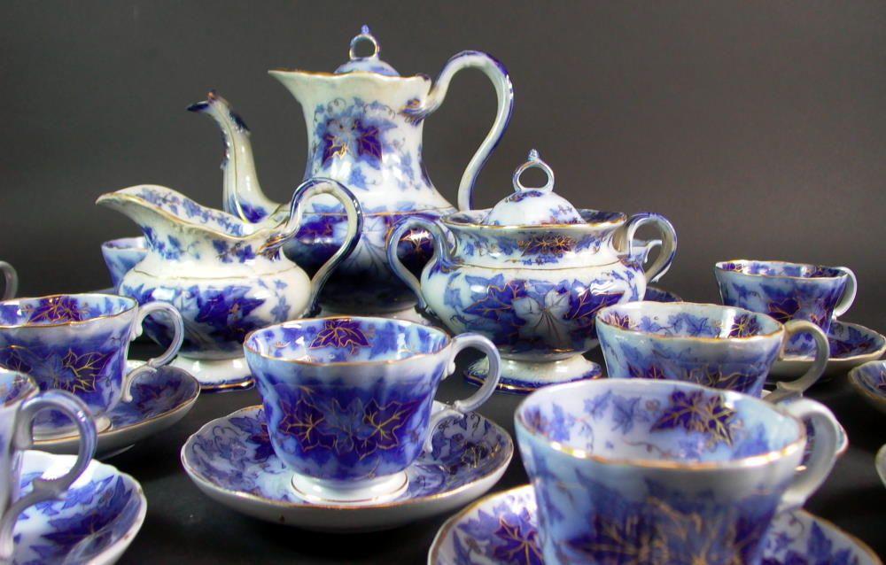Biedermeier Kaffeeservice 12 Personen - Villeroy & Boch Bryonia in Antiquitäten & Kunst, Porzellan & Keramik, Keramik, Nach Marke & Herkunft, Villeroy & Boch-Steingut | eBay