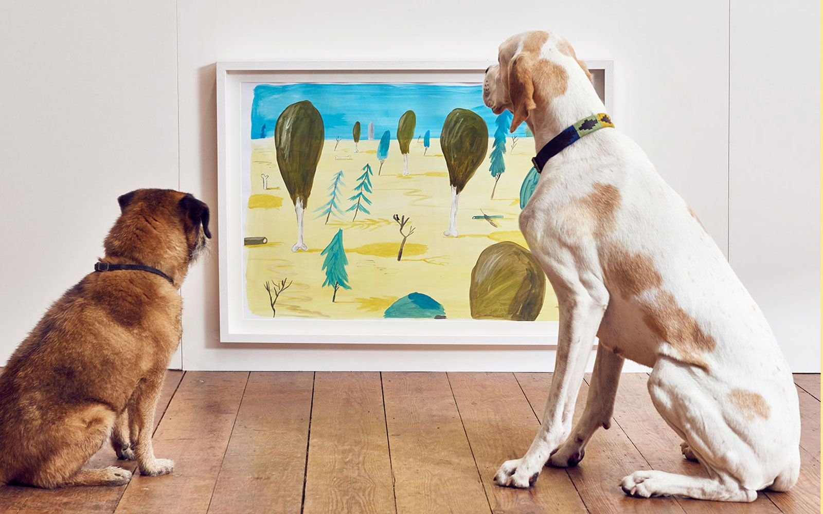 London Hosts the World's First Contemporary Art Show for Dogs | Contemporary art is going to the dogs.