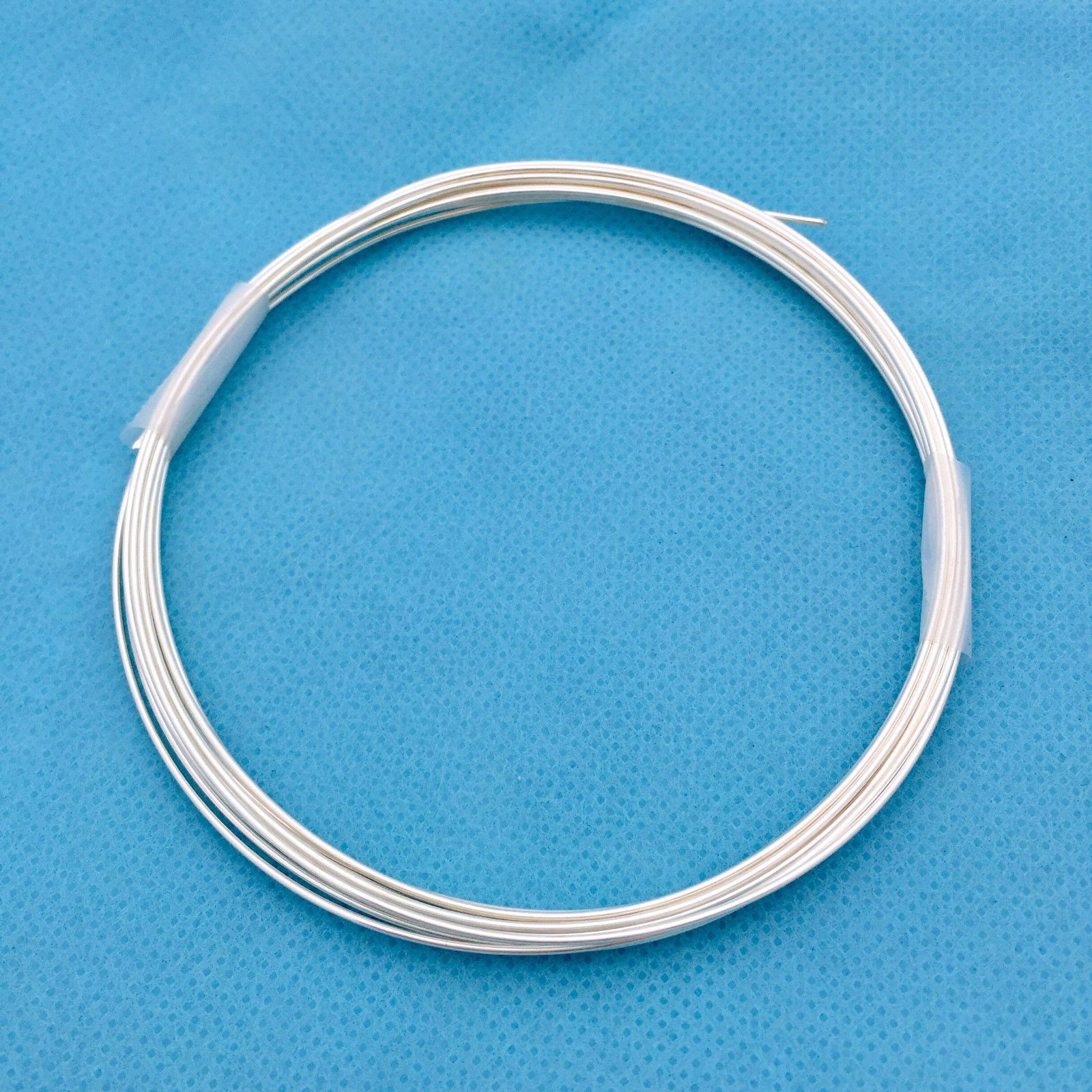 Cord Thread and Wire 150059: 20 Gauge Wire Solid Sterling Silver ...