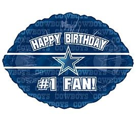 Birthday Cake Dallas Cowboys Happy Birthday Cards