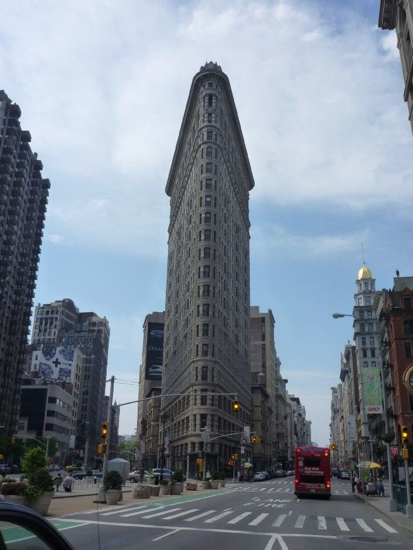 Always a must to see when in New York City the Flatiron Building built in 1902.