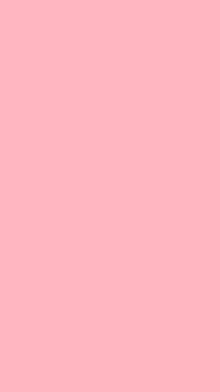 Glossier Iphone Wallpaper 750x1334 Light Pink Solid Color Background Cakes And
