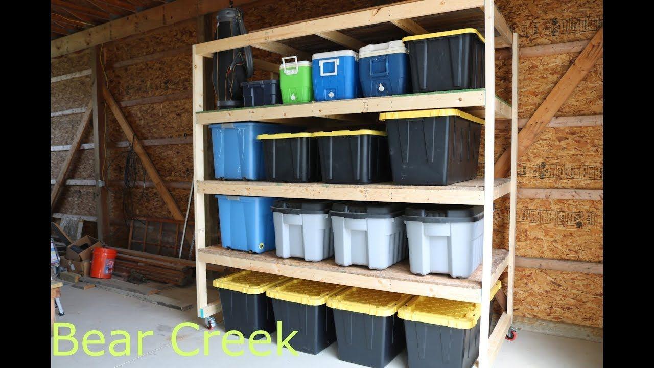 Episode 09 diy garage storage shelves garage storage