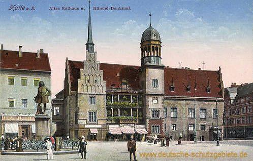 Halle Altes Rathaus Und Handel Denkmal Orte Zum Besuchen Rathaus Halle