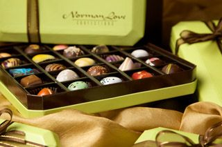 Norman Love's chocolates are worth every penny. You MUST try one at some point in your life.
