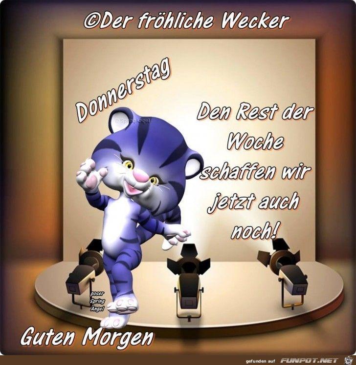 Donnerstag Cartoon Kitten Images Guten Morgen Donnerstag Bilder