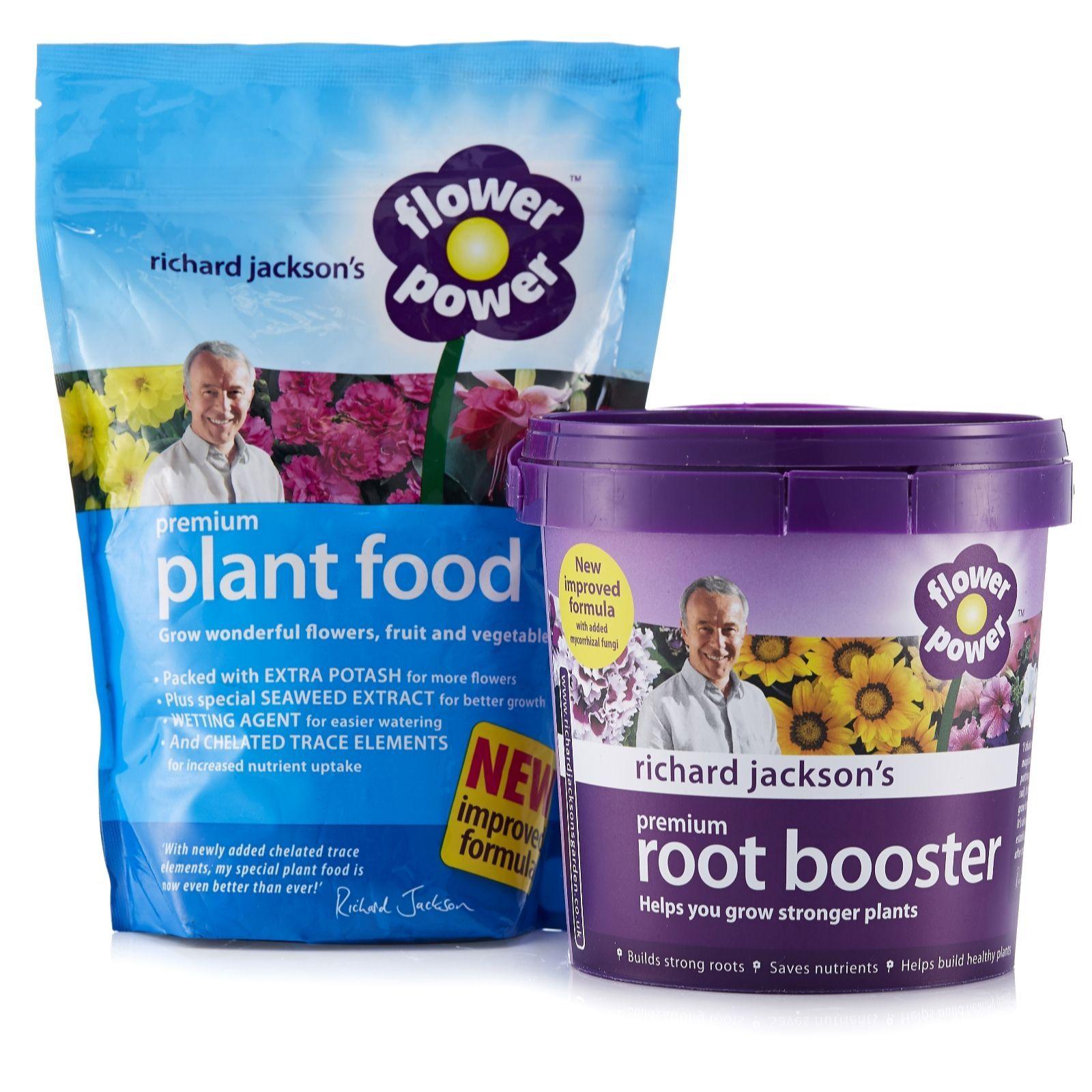 Richard Jackson S 750g Flower Power Premium Plant Food 600g Root