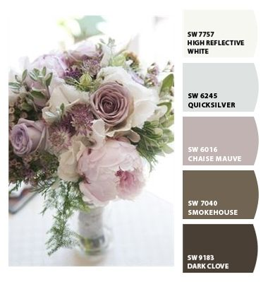 shabby chic paint colorsPaint colors from ColorSnap by SherwinWilliams  Shabby Chic