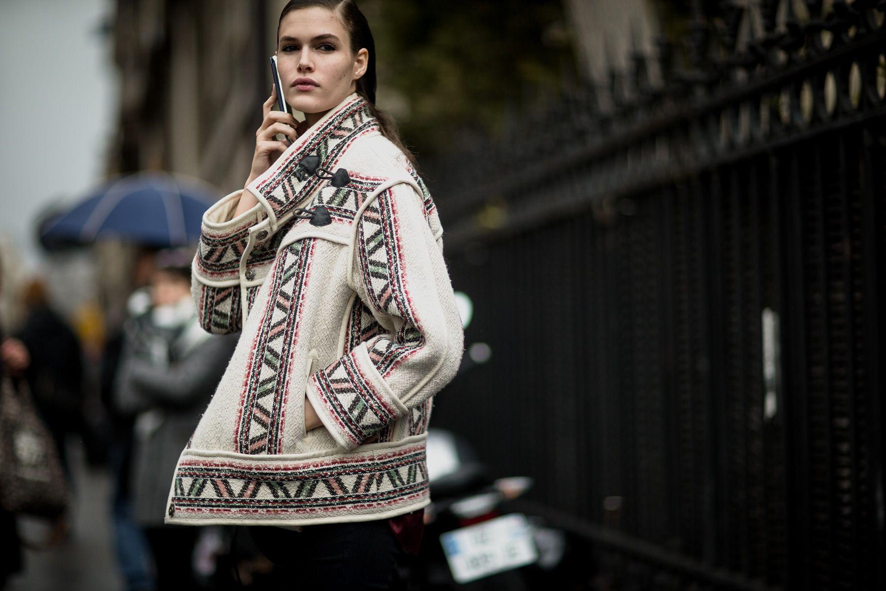 Costumes streetstylefotograf har været på gaden i Paris og fanget de smukkeste off the runway-look