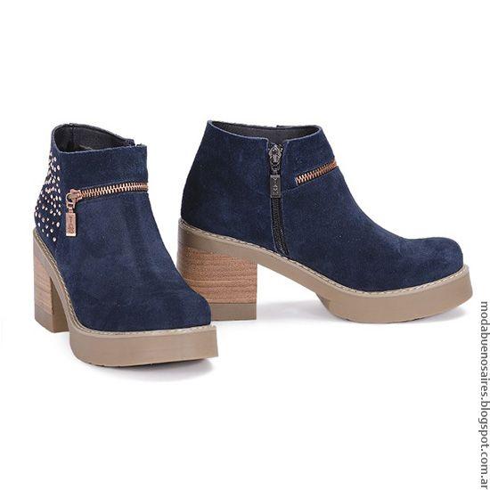 d0055f2dbbaac Moda otoño invierno 2016 botas de mujer Viamo.