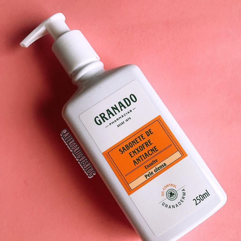 Resenha Sabonete Liquido De Enxofre Antiacne Pele Oleosa Granado