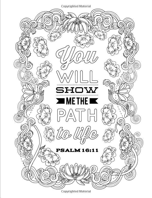 amazoncom color the psalms inspired to grace christian coloring books