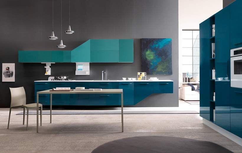 Cucine Moderne - Alicante - Verde - Febal Casa   COZINHA ...