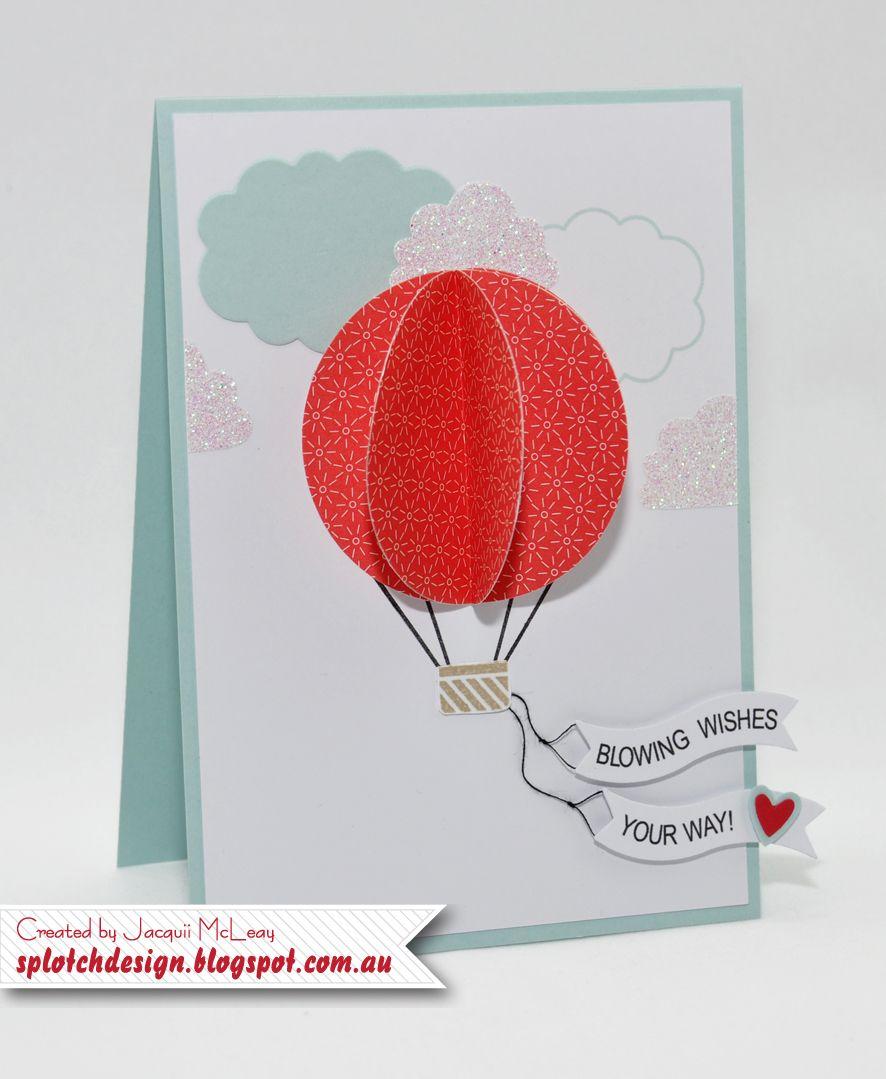 Splotch Design - Jacquii McLeay - Stampin Up - Celebrate Today Card