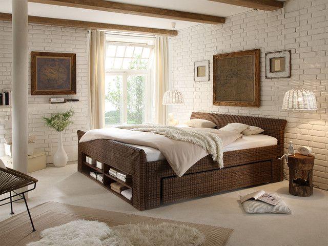 Bett Erato von massivumde schlafzimmer einrichten Pinterest - schlafzimmer einrichten braun
