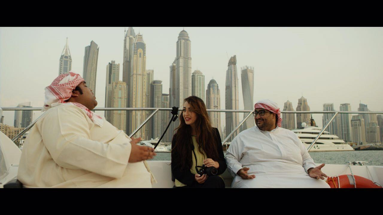 مشهد من فيلم ليزا للمخرج احمد زين