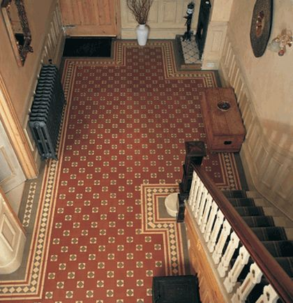 Original Style Victorian Floor Tile From Great Britain Tile