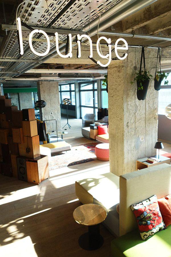 25hours hotel bikini berlin workspace hoteleinrichtung for Hotel berlino design