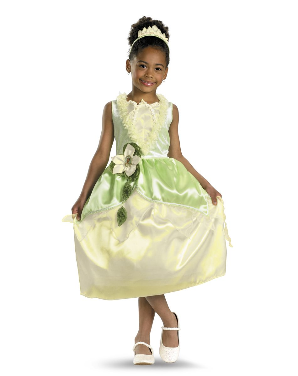 Disney Princess Tiana Embellished Girl\'s Costume   For Etta ...