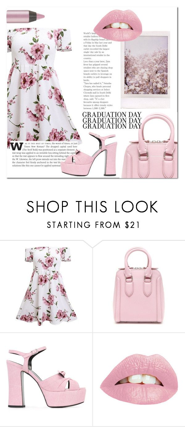 """""""💄"""" by sarate ❤ liked on Polyvore featuring Alexander McQueen, Yves Saint Laurent and Urban Decay"""
