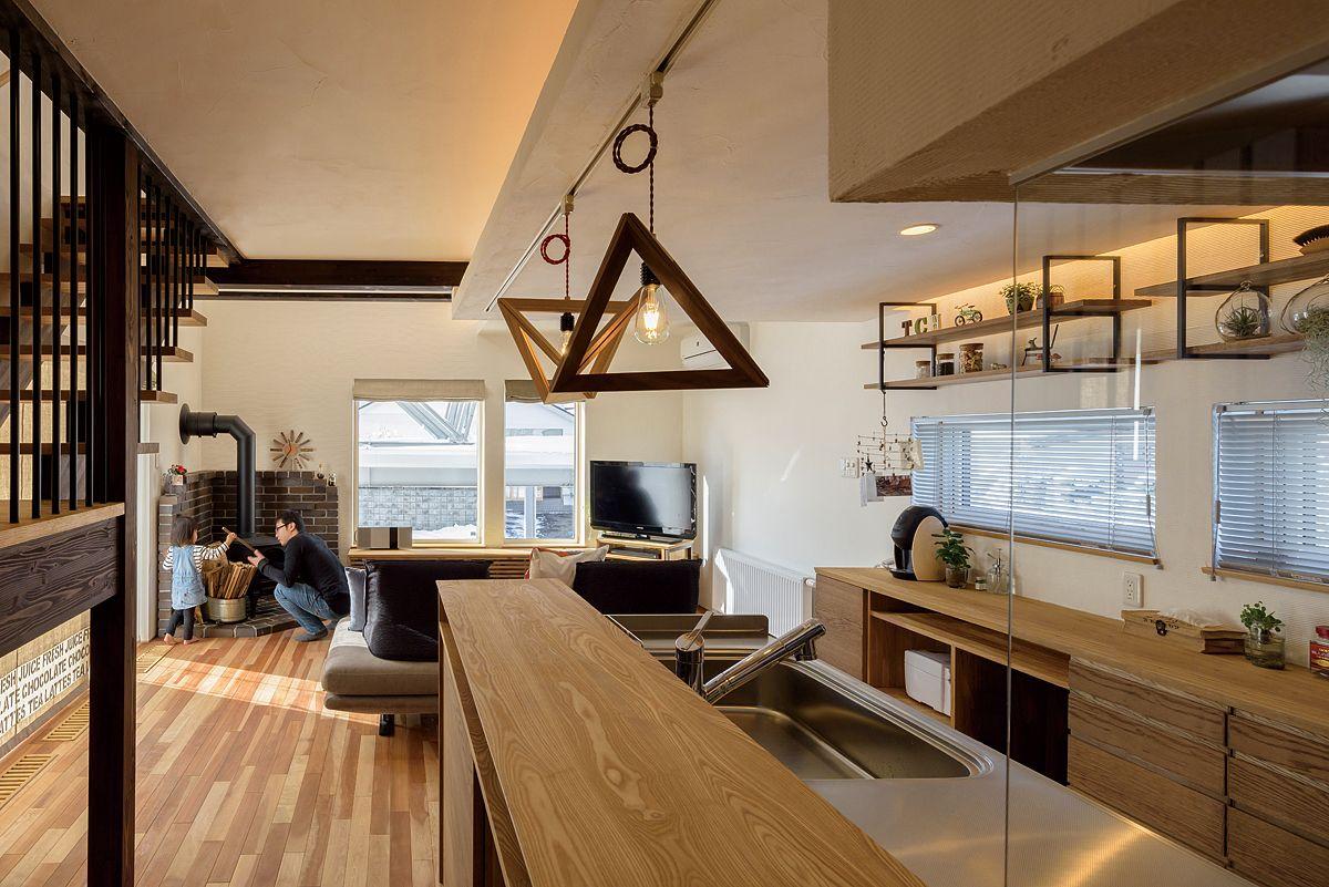 キクザワ 機能もデザインも手を抜かない遊び心満点のzeh住宅 北