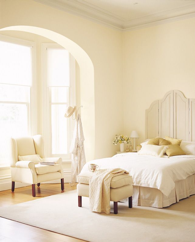 Choosing The Right White Inspirations Paint Mobile Yellow Walls Living Room Yellow Bedroom Decor Yellow Bedroom Walls