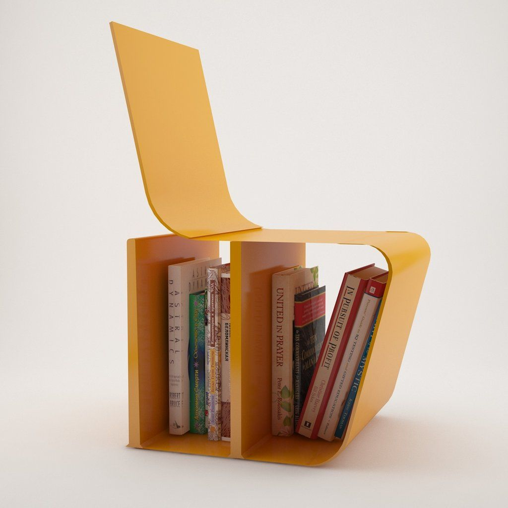 The Book Chair By Artemiscopdeviantartcom On DeviantArt Book - Bookchair combined with bookshelf