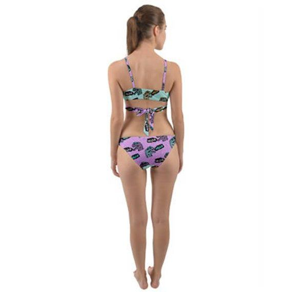 best sneakers professional vivid and great in style Hello Dino Wrap-Around Bikini - 2 Piece Swimsuit - Cute Blue ...