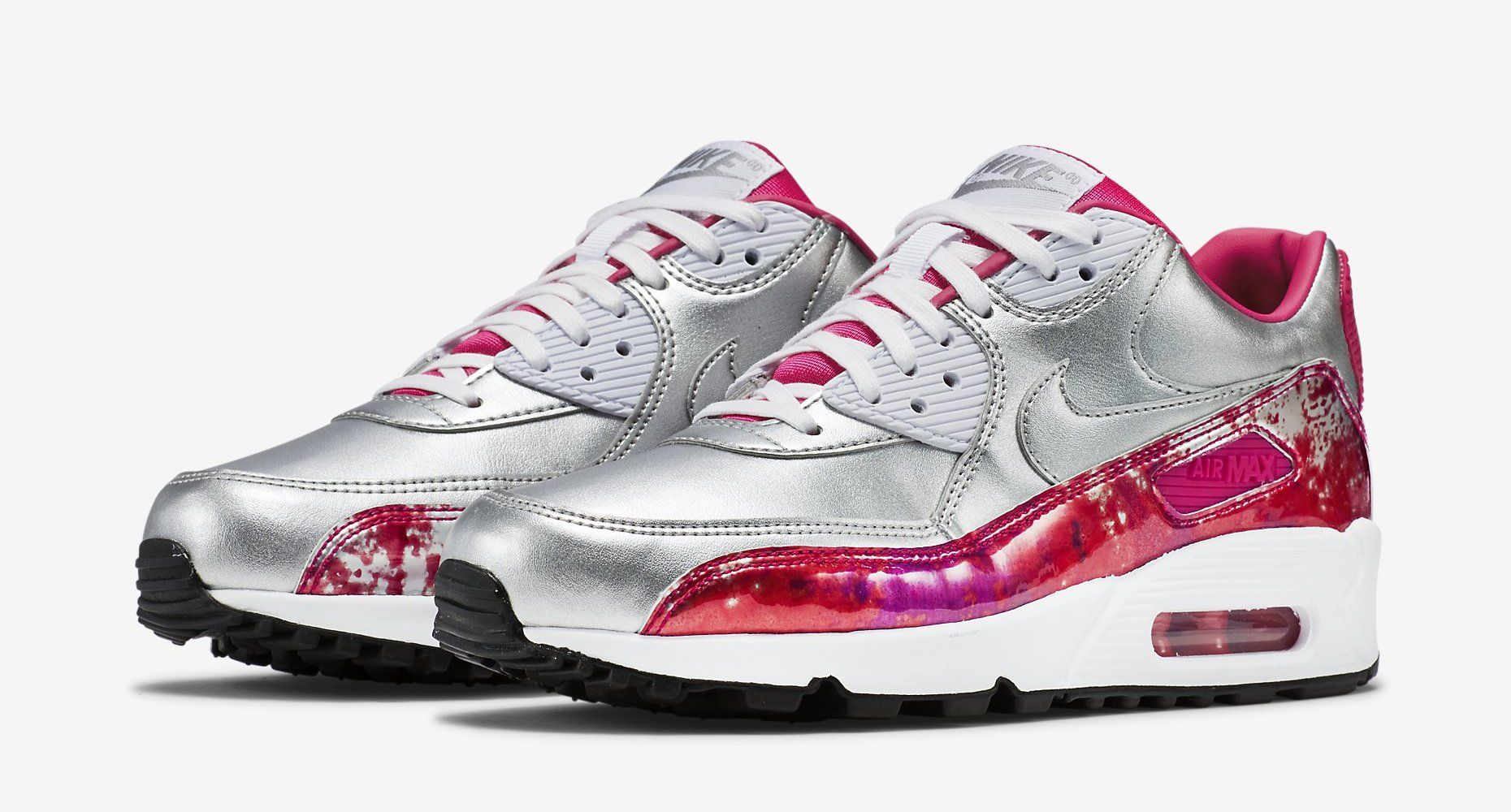 Nike Air Max 90 Femmes Rose Maquillage
