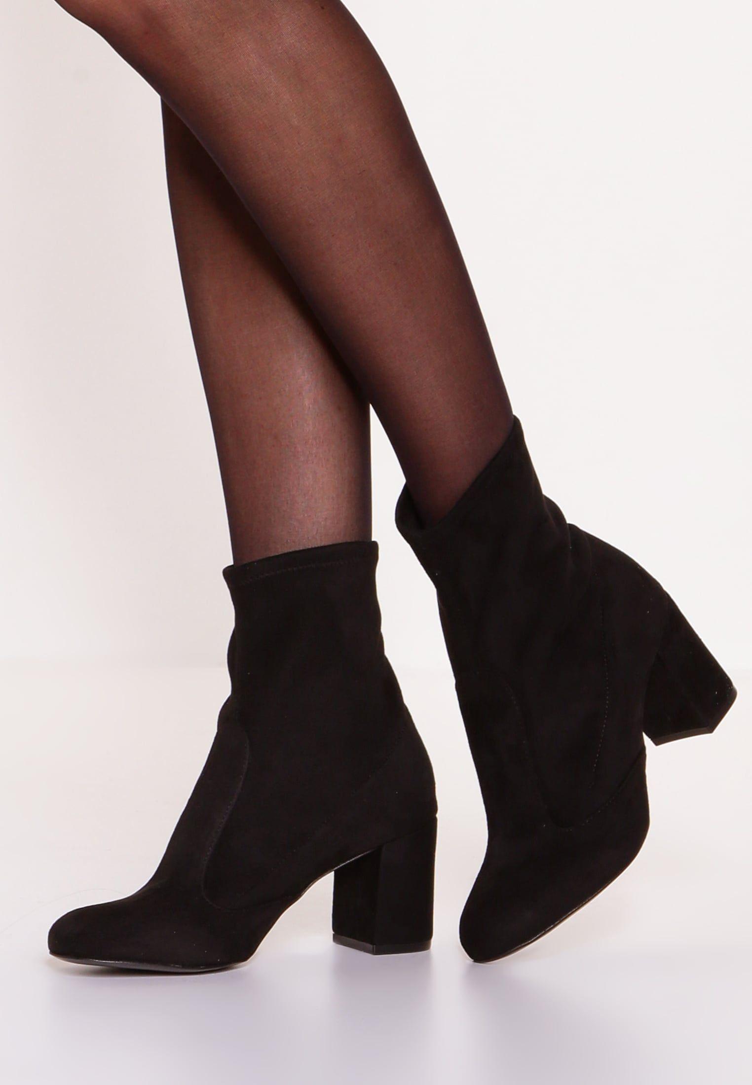 huge discount 9e543 db58d BIRGY BOOTIE - Stiefelette - black   Sock / Slim Boots ...