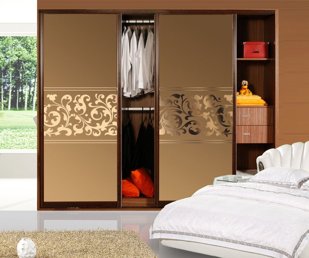 Tea Mirror Wardrobe Doors Jade Sand / Sliding Doors