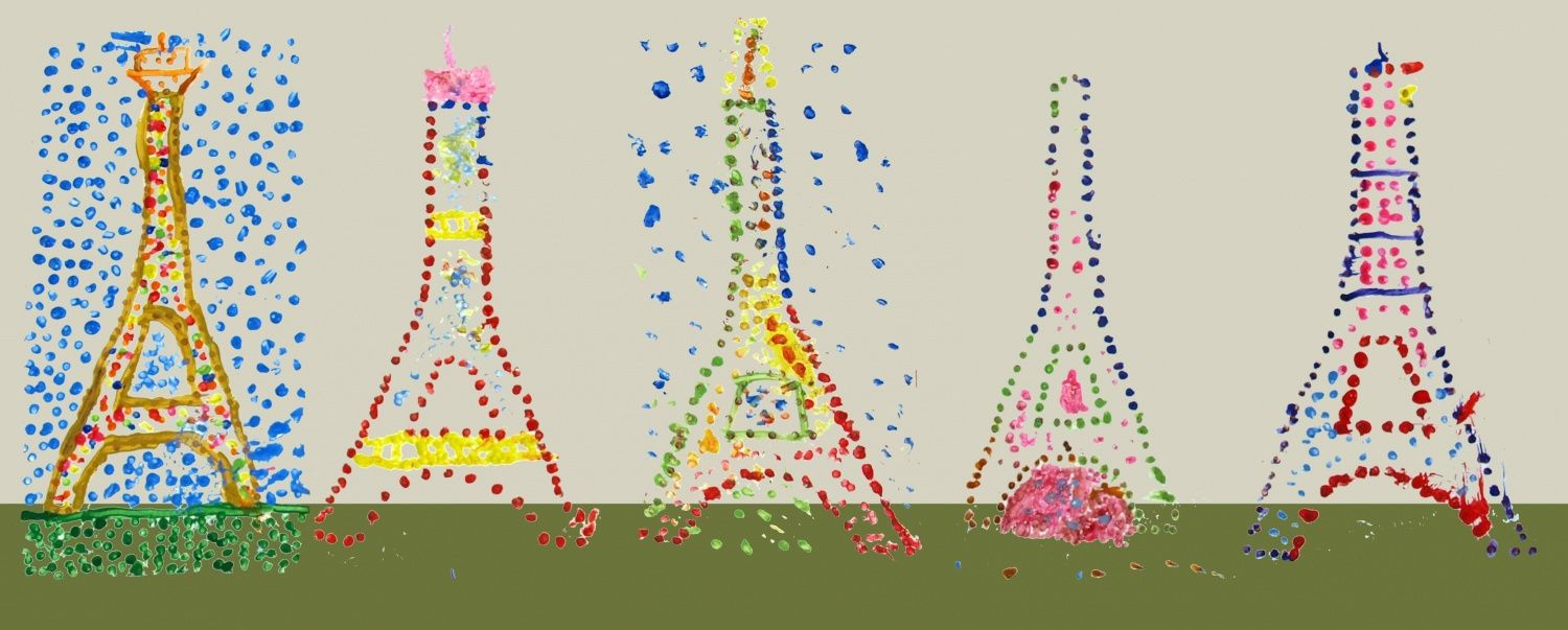 Le pointillisme et Georges Seurat | Pointillisme, Coloriage tour ...
